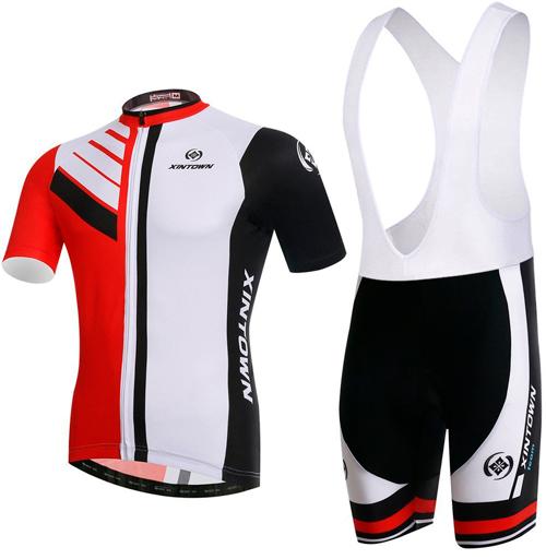 INBIKE Tenue Cyclisme Homme Maillot VTT Pantalon Cycliste Rembourr/é 3D Gel Ensemble Velo Manches Longues Equipe Pro